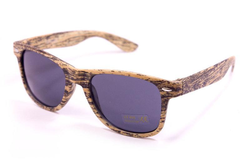 Солнцезащитные очки Waufarer UV400 Черно-коричневые (1028-84)