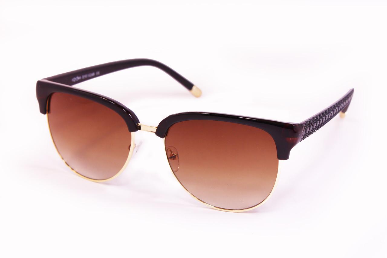 Солнцезащитные очки UV400 Коричневые (8163-1)