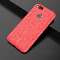 Чехол Touch для Xiaomi Mi A1 / Mi5X бампер оригинальный Auto focus Red