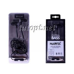 Вакуумные наушники-гарнитура Narita EV110 с микрофоном
