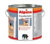 Грунтовка Alpina Grundierfarbe/ Біла 2,5л