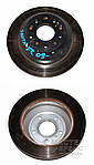 Тормозной диск для Hyundai Santa FE 2009-2012 584112P000