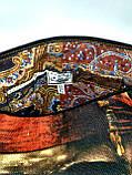 Джинсовая стеганная сумочка Джек Воробей, фото 5