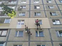 Фасадные работы здание Днепр