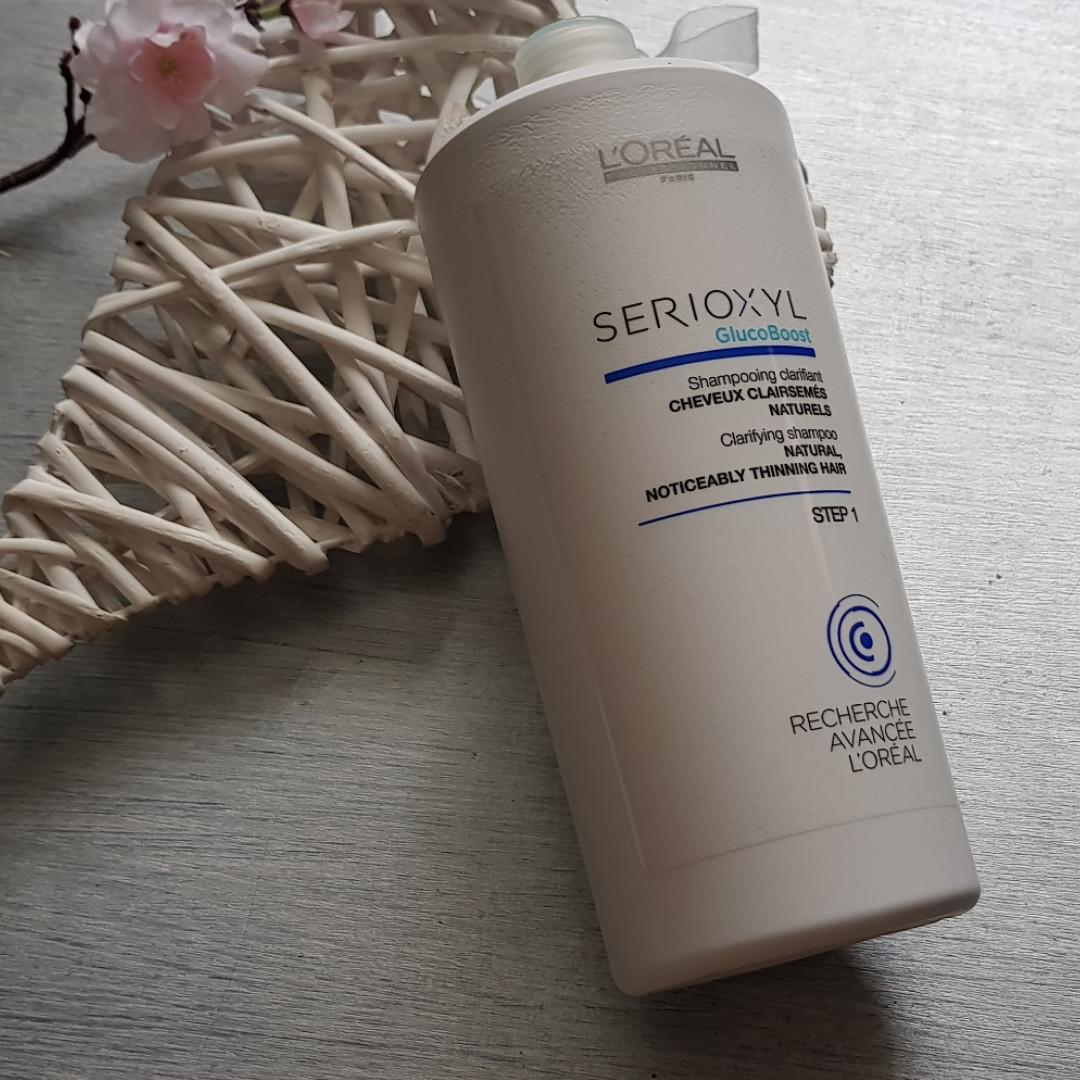 Очищающий шампунь для натуральных волос 1000ml -  Serioxyl Clarifying Shampoo Natural Hair Step 1