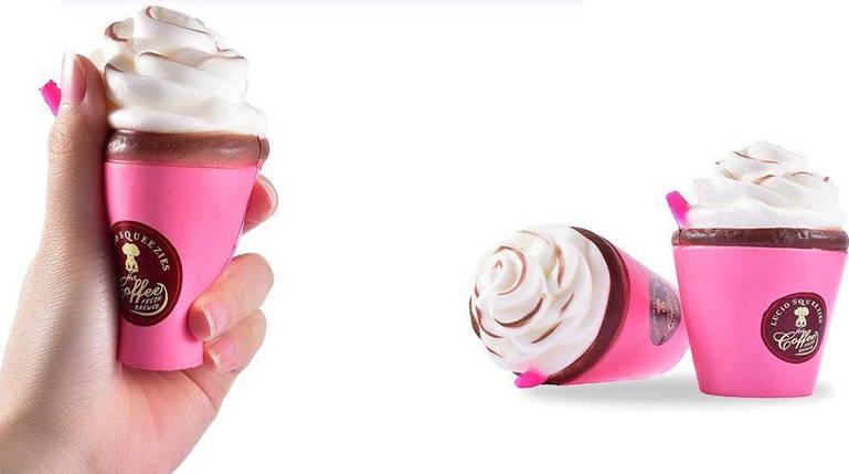 "Игрушка - Антистресс с ароматом  ""Squishy Кофе со сливками"", фото 2"