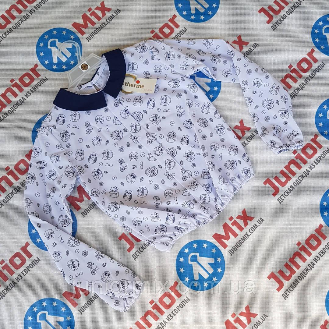 Детская  нарядная блузка для девочки под резинку Katherine.