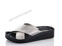 Шлепки женские Selena АКБ матово-золотой (36-40) - купить оптом на 7км в одессе
