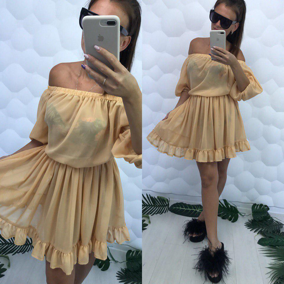 97e3befd6143a Шифоновое пляжное платье-туника: продажа, цена в Одессе. пляжная ...