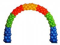 Арка из воздушных шаров на детский праздник, фото 1