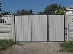 Ворота, калитки, заборы из профнастила. 8