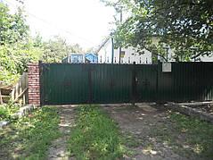 Ворота, калитки, заборы из профнастила. 11