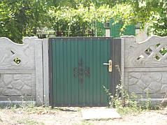 Ворота, калитки, заборы из профнастила. 19