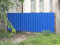 Ворота, калитки, заборы из профнастила. 23