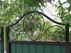 Ворота, калитки, заборы из профнастила. 31