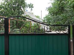 Ворота, калитки, заборы из профнастила. 32