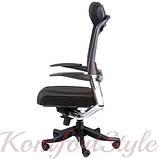 Кресло офисное Fulkrum black fabric, black mеsh, фото 3