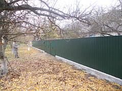 Ворота, калитки, заборы из профнастила. 34