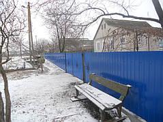 Ворота, калитки, заборы из профнастила. 37