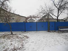 Ворота, калитки, заборы из профнастила. 38