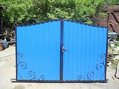 Ворота, калитки, заборы из профнастила. 41