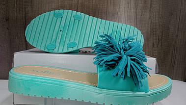 Резиновые женские шлепанцы , фото 3