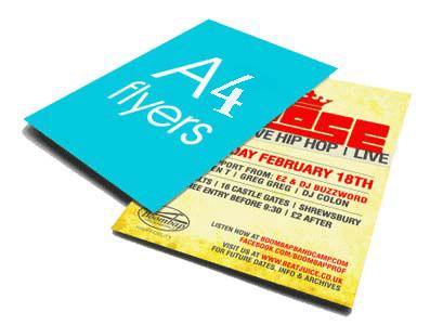 Листовки А4, печать листовок (210*297) 4+4 1000шт