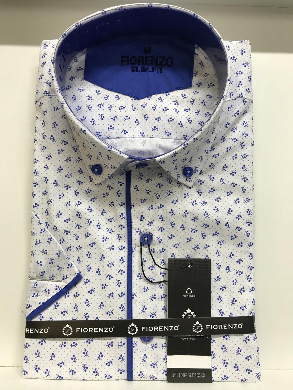Рубашка короткий рукав Fiorenzo slim
