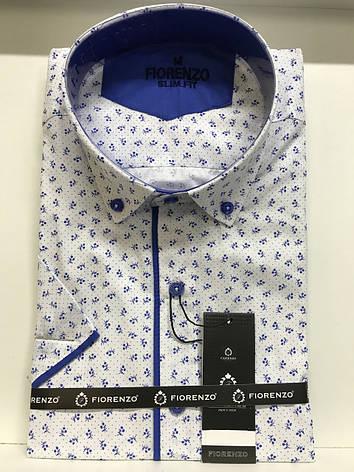 Рубашка короткий рукав Fiorenzo slim, фото 2