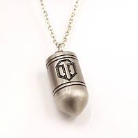 Кулон World of Tanks  серебро