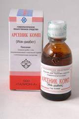 Иов диабет(Арсеник Комп)лечение сахарного диабета