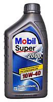 Масло моторное mobil super 2000 10w40