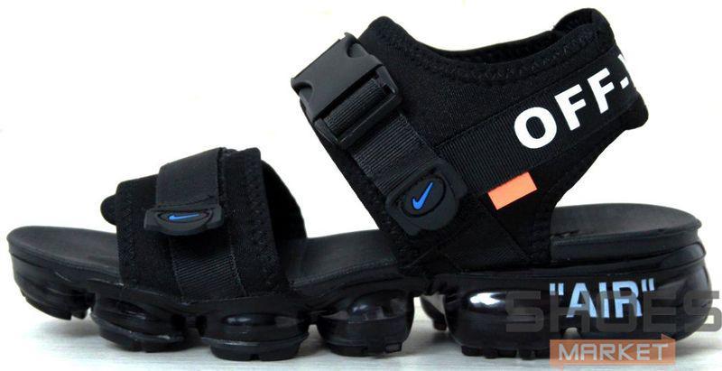 e579a632 Мужские сандали Nike Air VaporMax X Off-white Sandals - Интернет-магазин  обуви и