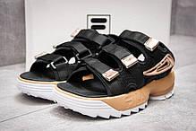 Женские сандали Fila Distruptor 2 Sandals Black/Beige, Фила Дизраптор, фото 2