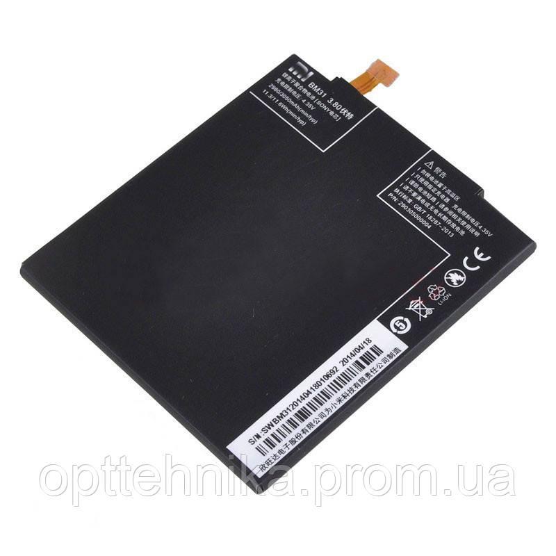 Аккумуляторные батареи Original Xiaomi MI3/BM31 (тех.пак)