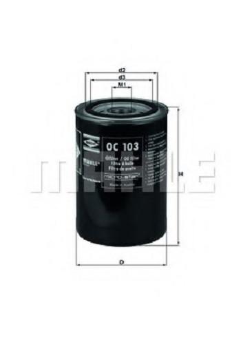 Масляный фильтр OC103 для Ford, Opel, Austi
