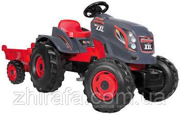 Трактор на педалях с прицепом Smoby Stronger XXL 710200