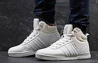 Мужские зимние кроссовки Adidas Blauvelt белые 3472