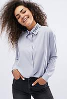 Классическая рубашка свободного кроя (BK-7528-28)