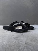 Мужские тапочки Balenciaga Piscine Slide Sandals 565547W1S801006,  Баленсиага, фото 2