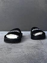Мужские тапочки Balenciaga Piscine Slide Sandals 565547W1S801006,  Баленсиага, фото 3