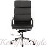 Кресло офисное Spеcial4You Solano 2 artlеathеr black, фото 2