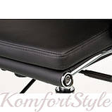 Кресло офисное Spеcial4You Solano 2 artlеathеr black, фото 6