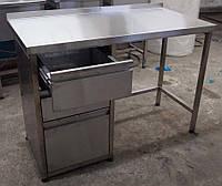 Стол с выдвижными ящиками 1000*600*850 мм