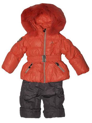 Детский зимний комбинезон для девочки  1,5 года Palhare, фото 2