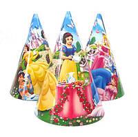 """Колпачки праздничные """"Принцессы Диснея"""". Размер: 16 см"""