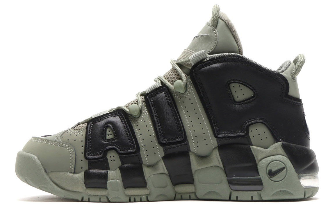 Мужские кроссовки Nike More Uptempo Dark Stucco ( Khaki )