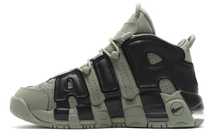 Мужские кроссовки Nike More Uptempo Dark Stucco ( Khaki ), фото 2