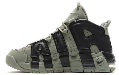Женские кроссовки Nike More Uptempo Dark Stucco ( Khaki )