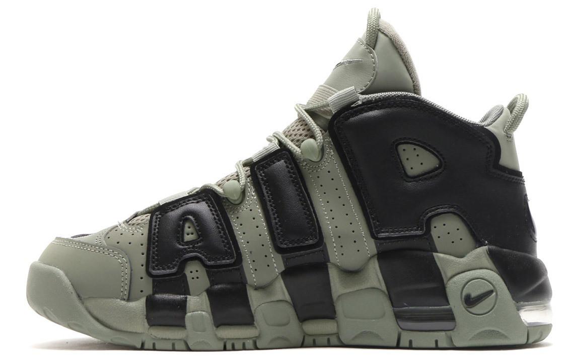 Женские кроссовки Nike More Uptempo Dark Stucco ( Khaki )